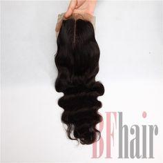 BF Hair 6A Lace Top Closure Swiss Lace 4*4 Natural Wave Virgin Human Hair Natural Black - BF Hair