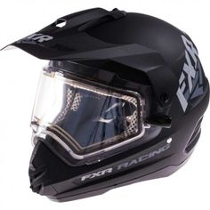 FXR Torque X Recoil Black Ops Electric Mens Sled Snowboard Snowmobile Helmets