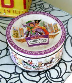 1960s Quality Street Chocolates Tin