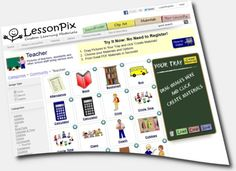 body images found on LessonPix ~~ LessonPix is an easy-to-use online resource that allows users to create various customized learning materials. $36 yr.
