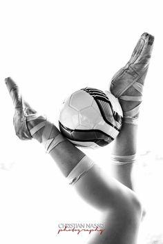 Soccer & Ballet Bride