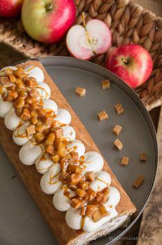 Kinuskinen omenakääretorttu Hot Dogs, Ethnic Recipes, Food, Essen, Meals, Yemek, Eten