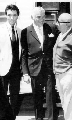 On the set of Double Trouble with Lorne Greene and Director