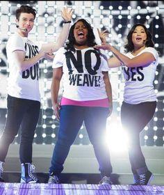 BTW Glee Live