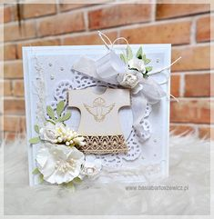 www.basiabartoszewicz.pl Christening, Decorative Boxes, Gift Wrapping, Gifts, Scrapbooking, Samsung, Paper Wrapping, Presents, Wrapping Gifts
