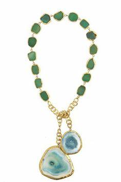 Agate Lariat Necklace | Calypso St. Barth