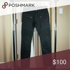 Embellish biker jeans Elemento size 30 Size 30 . Ask for all add pics. Embellish  Jeans Skinny