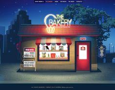 "Consulta este proyecto @Behance: ""The Bakery // web design and illustration"" https://www.behance.net/gallery/5396729/The-Bakery-web-design-and-illustration"