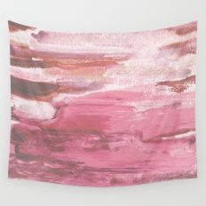 Soft Pink Wall Tapestry
