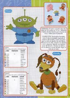 ENCANTOS EM PONTO CRUZ: Toy Story