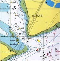 Yachtfernsehen.com Yachten und Meer Tipps für die Navigation im niederländischen Wattenmeer Gezeiten Holland - Betonnung im Molengat vor Texel (Niederland) hat sich 2013 geändert.