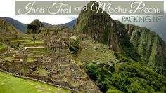 Peru is one of my favorite countries and Machu Picchu is one of the most incredible travel experiences! Read these tips to plan your packing Llst for Peru!