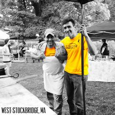 """Where in the world is the Fieldhouse? Chillin' with Tommy """"Flatbread"""" Tenuta at the West Stockbridge Farmer's Market! Tommy is current world record holder for most pickup soccer matches played at the Fieldhouse. But he is trailed closely by Zinedine Merelle. #lovethegame"""