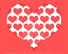 Cut Out Paper Heart