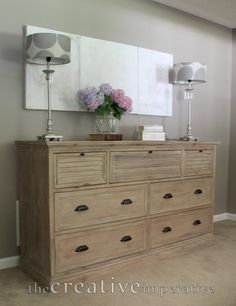 The Creative Imperative How To Style A Dresser With Limited Resources Guest Room