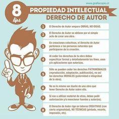 8 tips sobre Propiedad intelectual y Derechos de autor. #infografia #infographic pic.twitter.com/0gKAHFOV