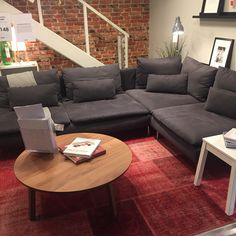 our grey ikea s derhamn sofa house pinterest grey. Black Bedroom Furniture Sets. Home Design Ideas