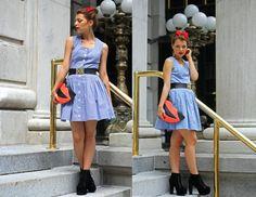 my berlin fashion: MYBERLINFASHIONxNYCFW | OUTFIT DAY III , THE VINTAGE DRESS