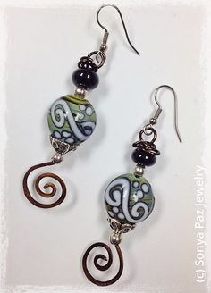 Organic Circus Earrings!