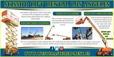 Visit this site http://westcoastequipment.us/boom-lift-rentals for more information on Boom Lift Rental Los Angeles.