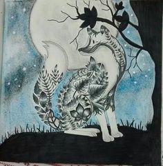 Tica Moreira (tinta Stabil com lapis de cor)