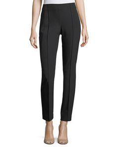 Lafayette 148 New York Gramercy Acclaimed-Stretch Pants, Plus Size