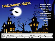 Mi música divertida: Partituras escolares Flute Sheet Music, Violin Music, Cello, World Tv, Scary Monsters, Teaching Music, Halloween Night, Musicals, Education