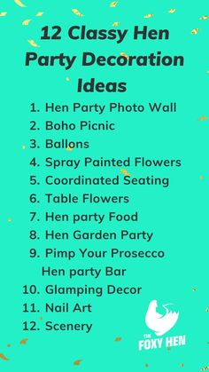 Looking for classy hen party decorations? These are great ideas that we know your hen party will love #henparty #decorations #hendo #classy #classyhen #hendecorations Hen Party Decorations, Bachelorette Decorations, Hen Party Food, Spray Paint Flowers, Classy Hen Party, Table Flowers, Party Photos, Prosecco, Ideas