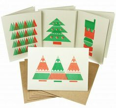 Designer Clare Birtwistle has produced a series of Christmas cards for Fred Aldous