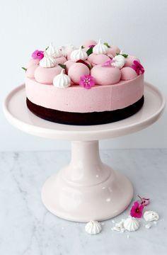 moussetårta jordgubb