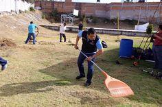 ICATMI refuerza los valores de la institución, promueve el trabajo en equipo y rehabilita los espacios educativos de los planteles