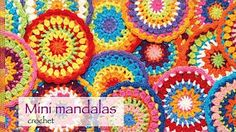 Cómo hacer una mandala a Crochet - YouTube