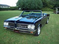 1964 Pontiac GTO  my personal favorite of all the muscle cars.