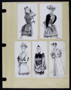 Mode. [XIXe siècle]. 1891