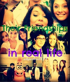 The friendships in real life <3