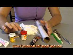 Porcelana Fria: Herramientas y teñido de la masa - YouTube