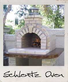 Schlentz Wood Fired Brick Pizza Oven in California by BrickWood Ovens
