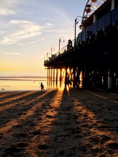 Santa Monica pier by Connor McSheffrey