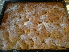 Das perfekte Blechkuchen mit Sauerkirschen,oder Mandarinen-Rezept mit einfacher Schritt-für-Schritt-Anleitung: Marzipan mit der Butter glattrühren, Zucker…
