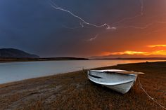 Summer storm by Christos Lamprianidis on Fotoblur | Waterscape Photography