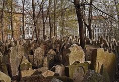 The Old Jewish Cemetery, Josefov (the Jewish Quarter), Prague. I am not Jewish, but I was deeply moved by what I learned about the human spirit here.