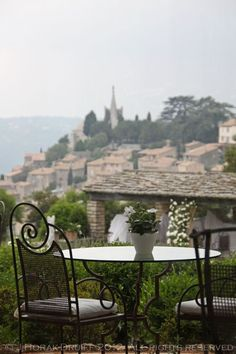 Michelin-starred dining in Bonnieux, Provence: