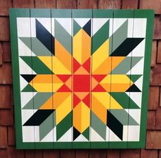 Sunflower Barn Quilt by Chela   Quilts   Pinterest   Barn ...