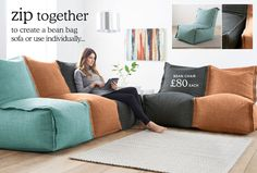 Bean Bags & Pods | Sofas & Armchairs | Home & Furniture | Next Official Site - Page 3