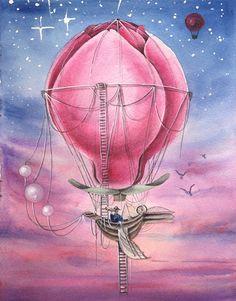 Image of Magnolia air ballon
