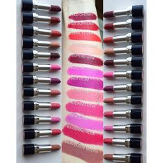 Kyx L shows off these astounding swatches of her gifted AVON True Color Perfectly Matte Lipsticks, an #AvonFreebie she received for being a Preen.Me VIP.  See these new generation lipsticks that never cake or crack by clicking through. #AvonFreebie