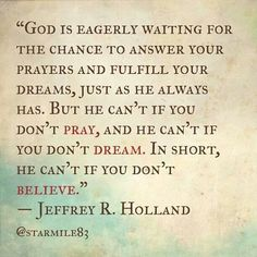 Can't wait for General Conference to learn more Hollandisms! Jeffery R. Holland
