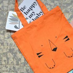 sac tigre orange Bandjo - deco-graphic.com