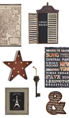 Shop vintage-inspired wall decor up to 40% off!