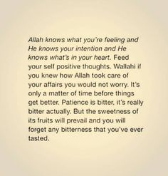 Allah knows. Quran Quotes Inspirational, Islamic Love Quotes, Muslim Quotes, Meaningful Quotes, Motivational Quotes, Hijab Quotes, Allah Quotes, Soul Quotes, Faith Quotes